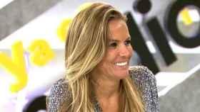 Marta López durante una de sus colaboraciones en 'Ya es mediodía'.