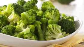 Brócoli al vapor en microondas