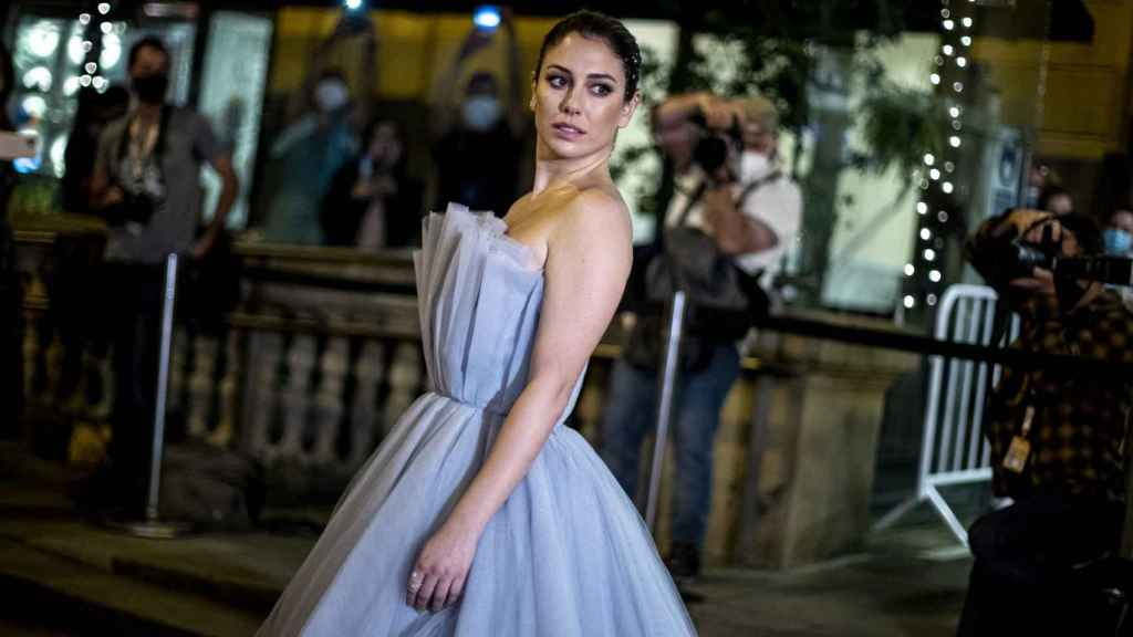 Blanca Suárez, en la premier de 'El verano que vivimos'.