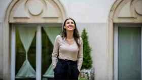 Irene Montero, en una imagen de sus redes sociales posando en el patio exterior del Ministerio de Igualdad.