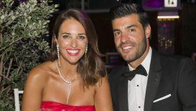 Paula Echevarría junto a Miguel Torres en la gala Starlite de Marbella.