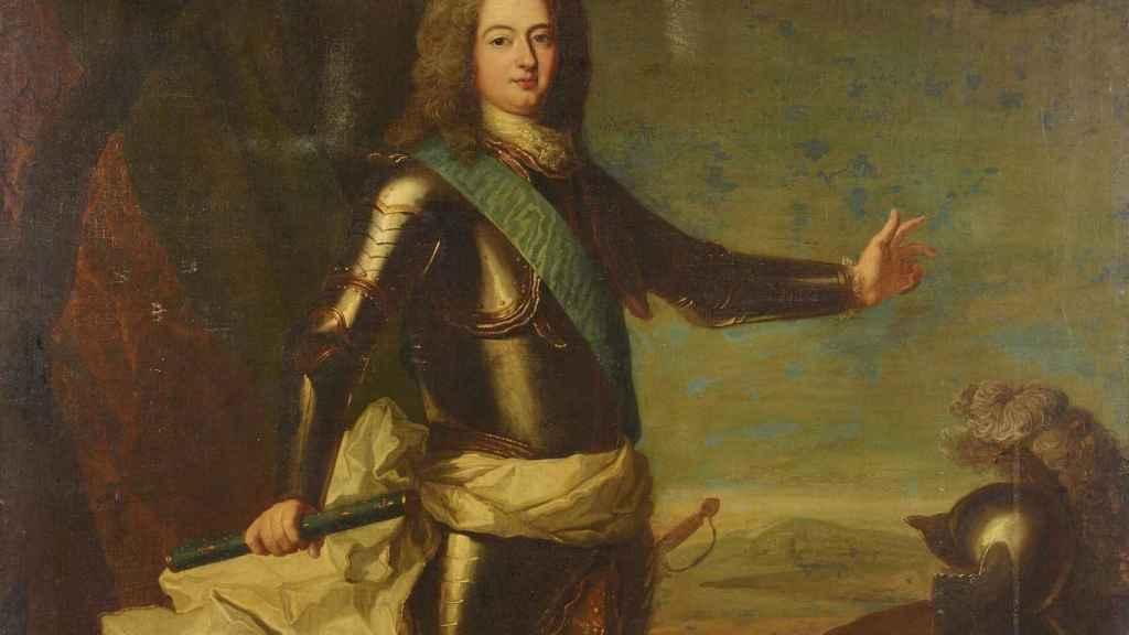 Retrato de Carlos de Borbón-Condé, Conde de Charolais.