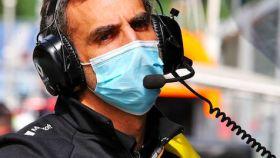 Cyril Abiteboul, jefe del equipo Renault F1