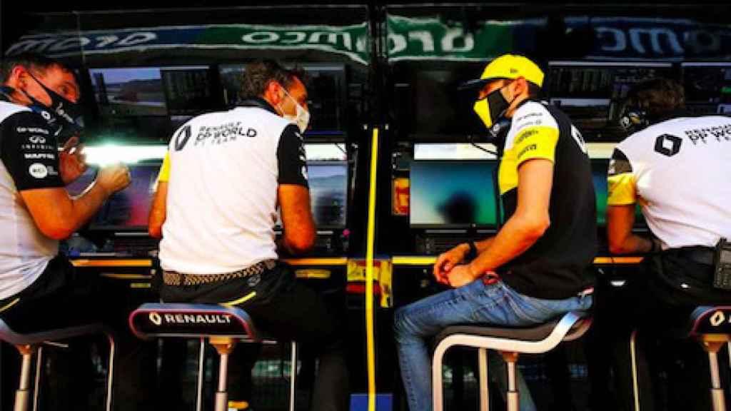 Cyril Abiteboul al frente del equipo Renault