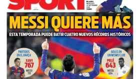 Portada Sport (23/09/20)