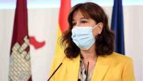 Blanca Fernández, portavoz del Gobierno de Castilla-La Mancha. Foto: Ó. HUERTAS.