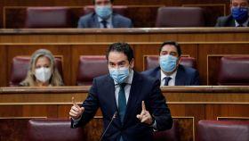 Teodoro García Egea, secretario general del PP, en el Congreso.