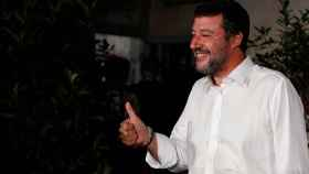 El líder de la Liga Italiana, Matteo Salvini.