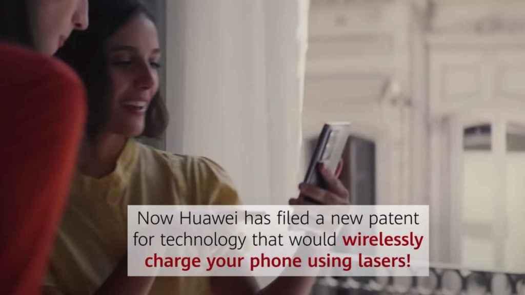Fotograma del vídeo demostrativo de Huawei.