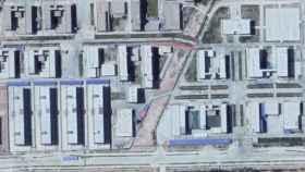 Campos de internamiento en China localizados por ASPI.