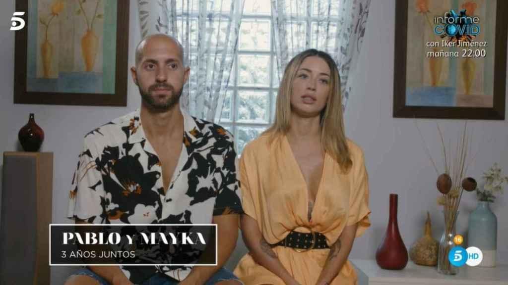 Pablo y Mayka en el vídeo de presentación.