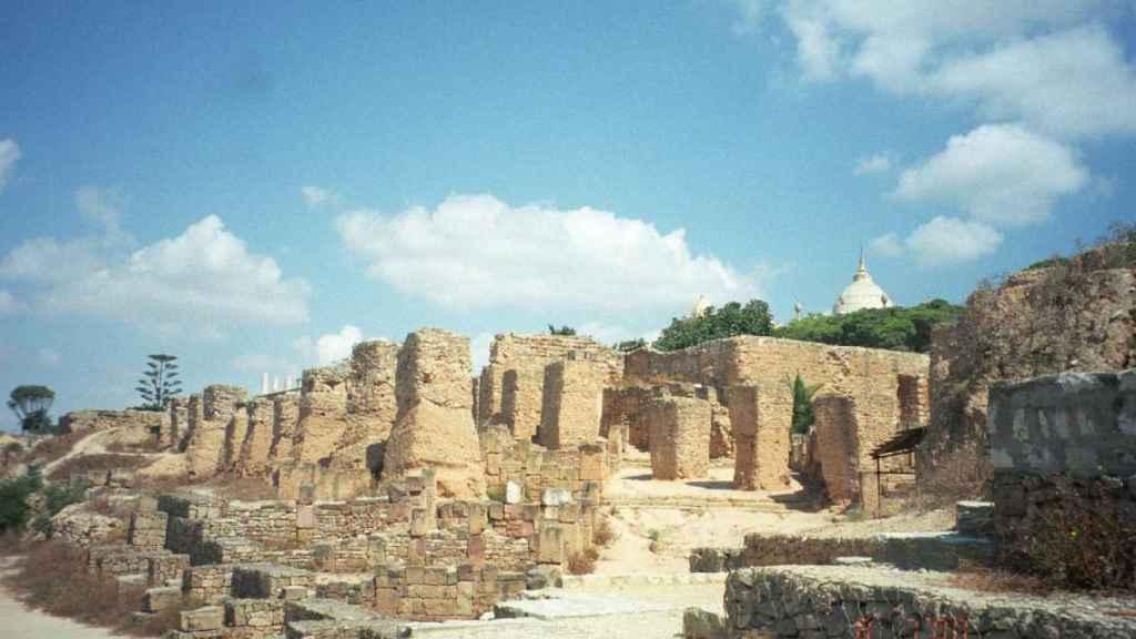 Ruinas púnicas de Cartago.