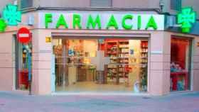 Una farmacia de Jaén.