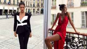 Mery Turiel deslumbra en París con dos de sus estilismos más atrevidos