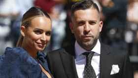 Jordi Alba y Romarey Ventura han vuelto a ser padres.