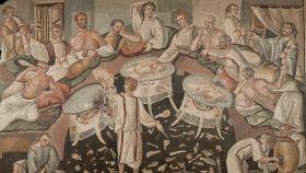 Mosaico romano del castillo de Boudry.
