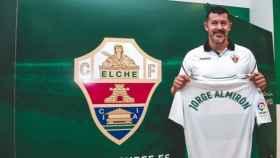 Jorge Almirón presentado con el Elche