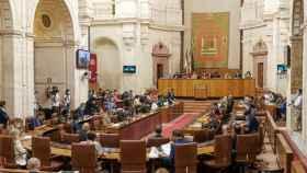 El Parlamento andaluz donde se ha aprobado el dictamen.