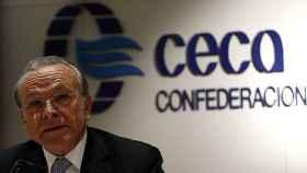 El presidente de Ceca y de la Fundación Bancaria La Caixa, Isidro Fainé.