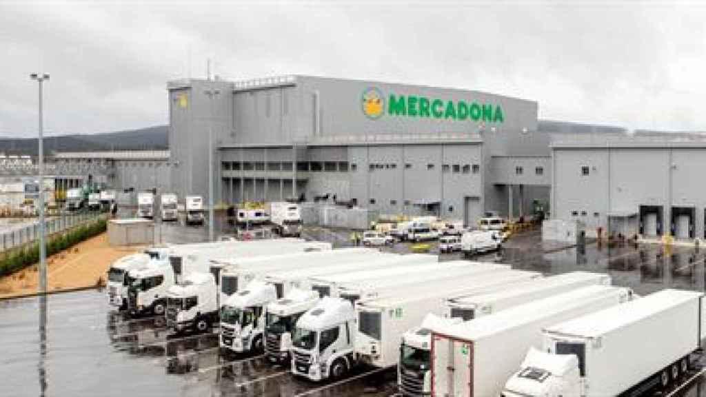 Bloque logístico de Mercadona en Euskadi.