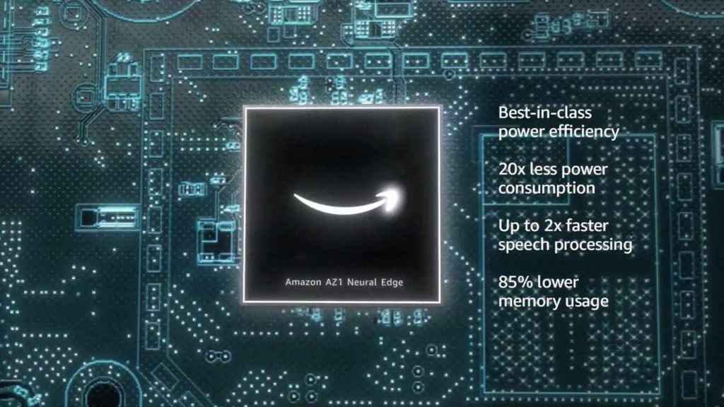 Chip AZ1 de los Amazon Echo
