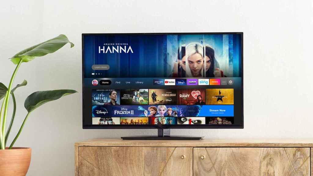 Amazon Fire TV con su nueva interfaz