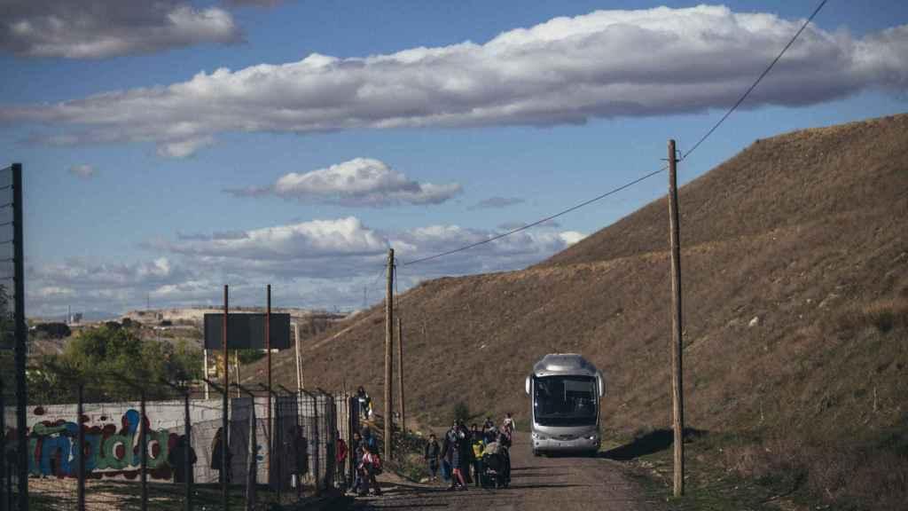 La nueva línea de autobús que irá desde La Cañada Real hasta Madrid.