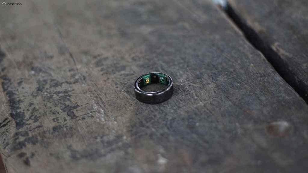 Oura, el anillo inteligente.