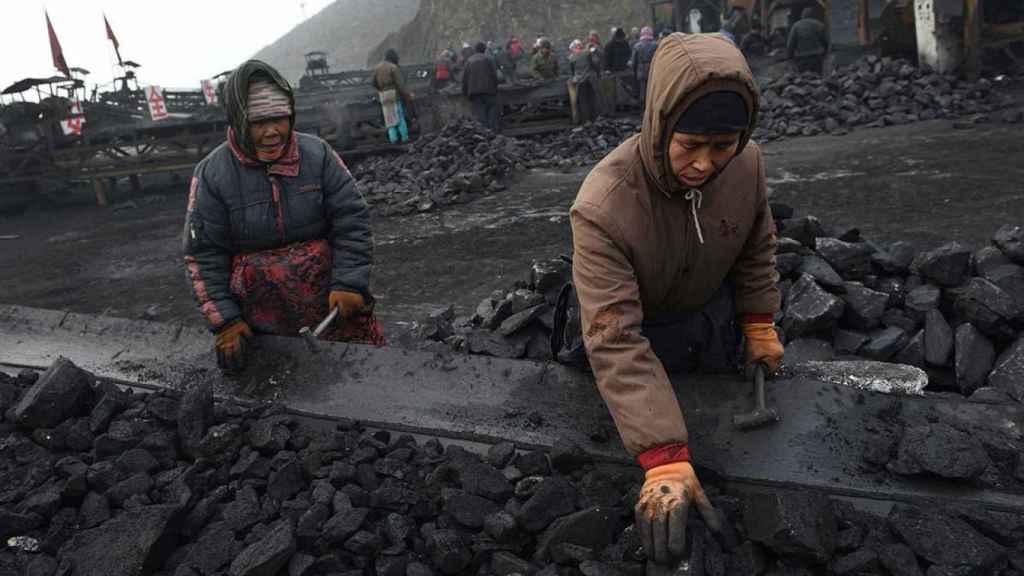 Minería de carbón en China