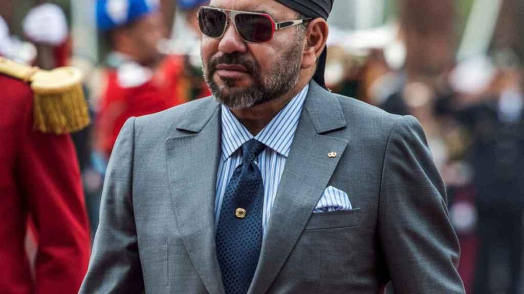 El monarca marroquí Mohamed VI.