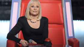 Raffaella Carrà, en 'La voz' Italia.