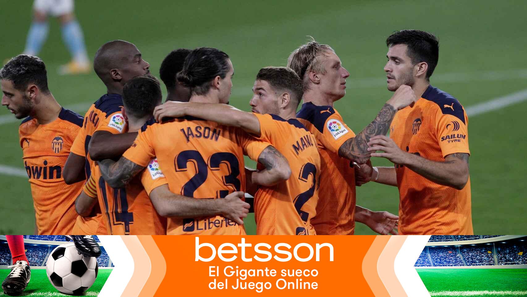 Gana 170 euros con el triunfo del Valencia ante el Huesca en La Liga