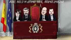 El presidente del TC tampoco asistirá al acto judicial en Barcelona tras la ausencia del Rey