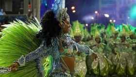 Los desfiles de Carnaval en Brasil.