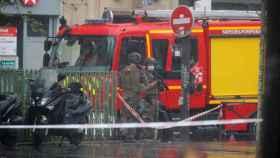 La operación policial montada tras el ataque.