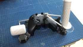Los controles adaptados para Flight Simulator en el mando de Xbox