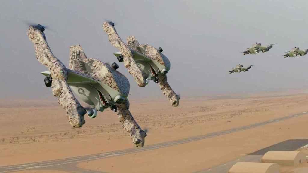 El Sonin Recruit es un dron híbrido con versión militar
