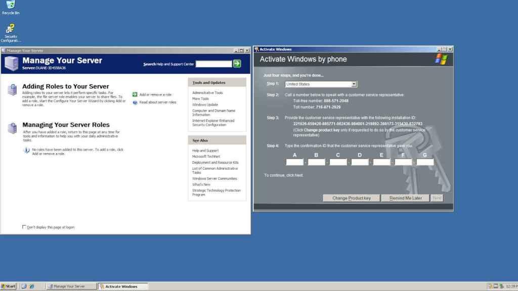 Windows Server 2003 es uno de los sistemas filtrados