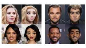 Ejemplos de personajes creados por IA basados en personalidades famosas