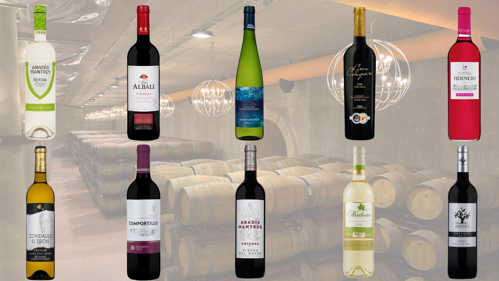 La Vinoteca De Mercadona Con Bodegas Exclusivas Los 48 Denominación De Origen Por Menos De 5