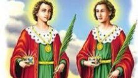 San Cosme y San Damián.