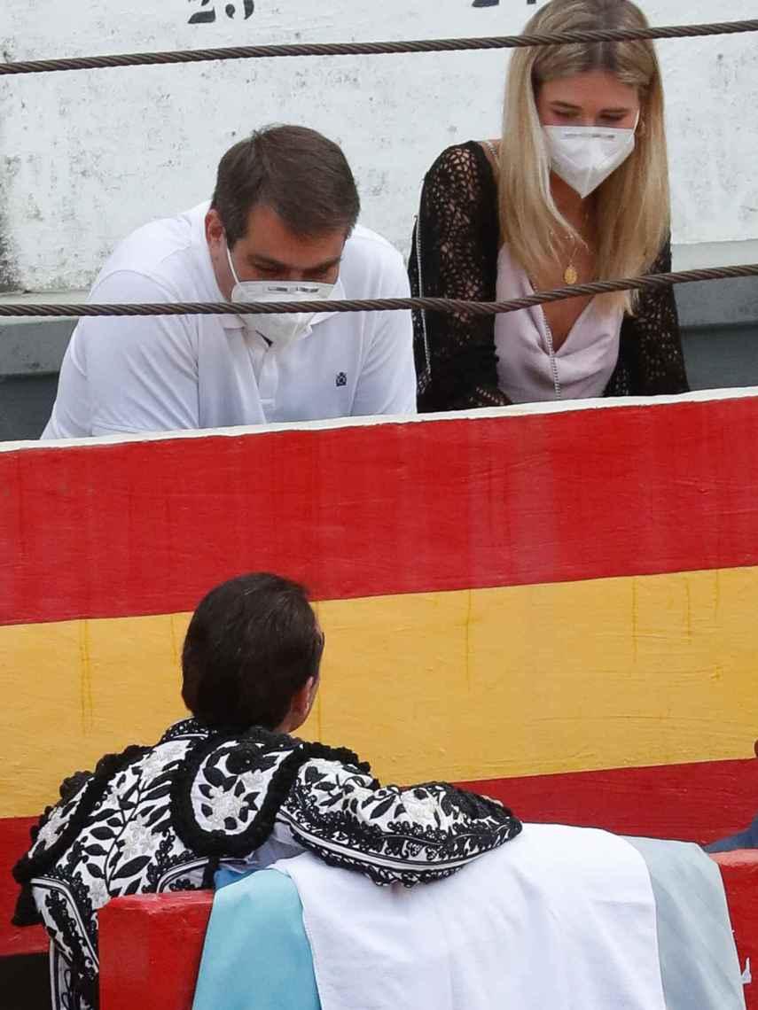 Ana y Enrique estuvieron muy atentos el uno al otro.