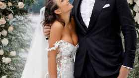 Elettra Lamborghini y Nick, este sábado en su boda.
