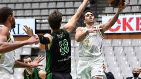 Facundo Campazzo, en el Joventut - Real Madrid de la jornada 3 de la ACB