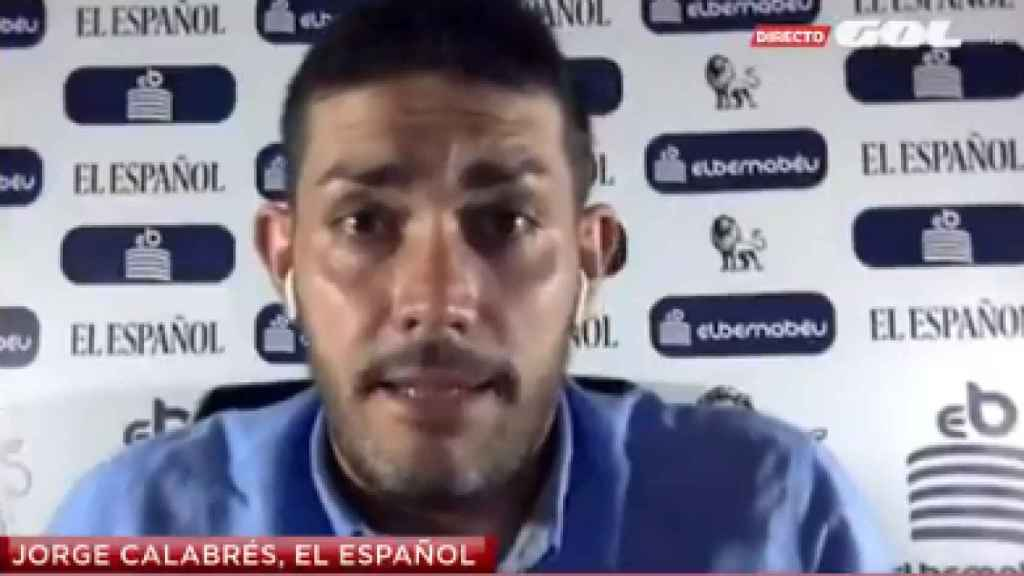 Jorge Calabrés en Gol