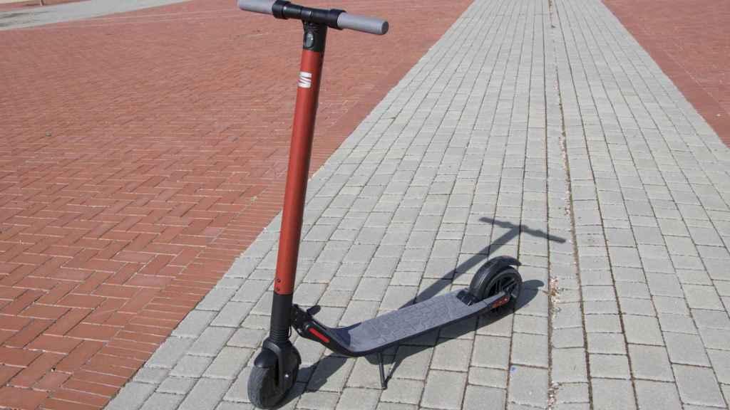 El patinete de Seat está a la venta en Seatmo.com