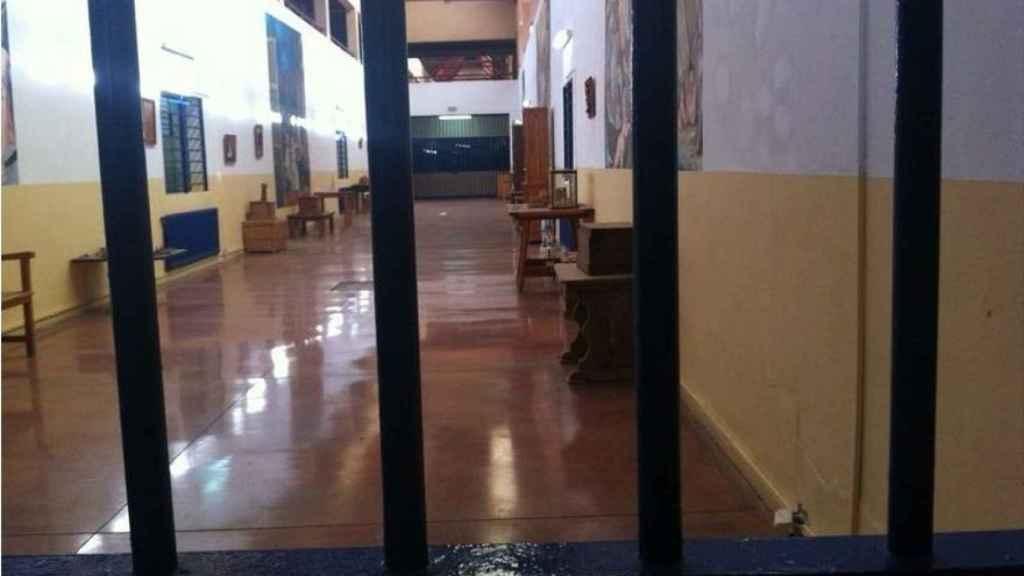 Pabellón de una prisión del sistema penitenciario español.