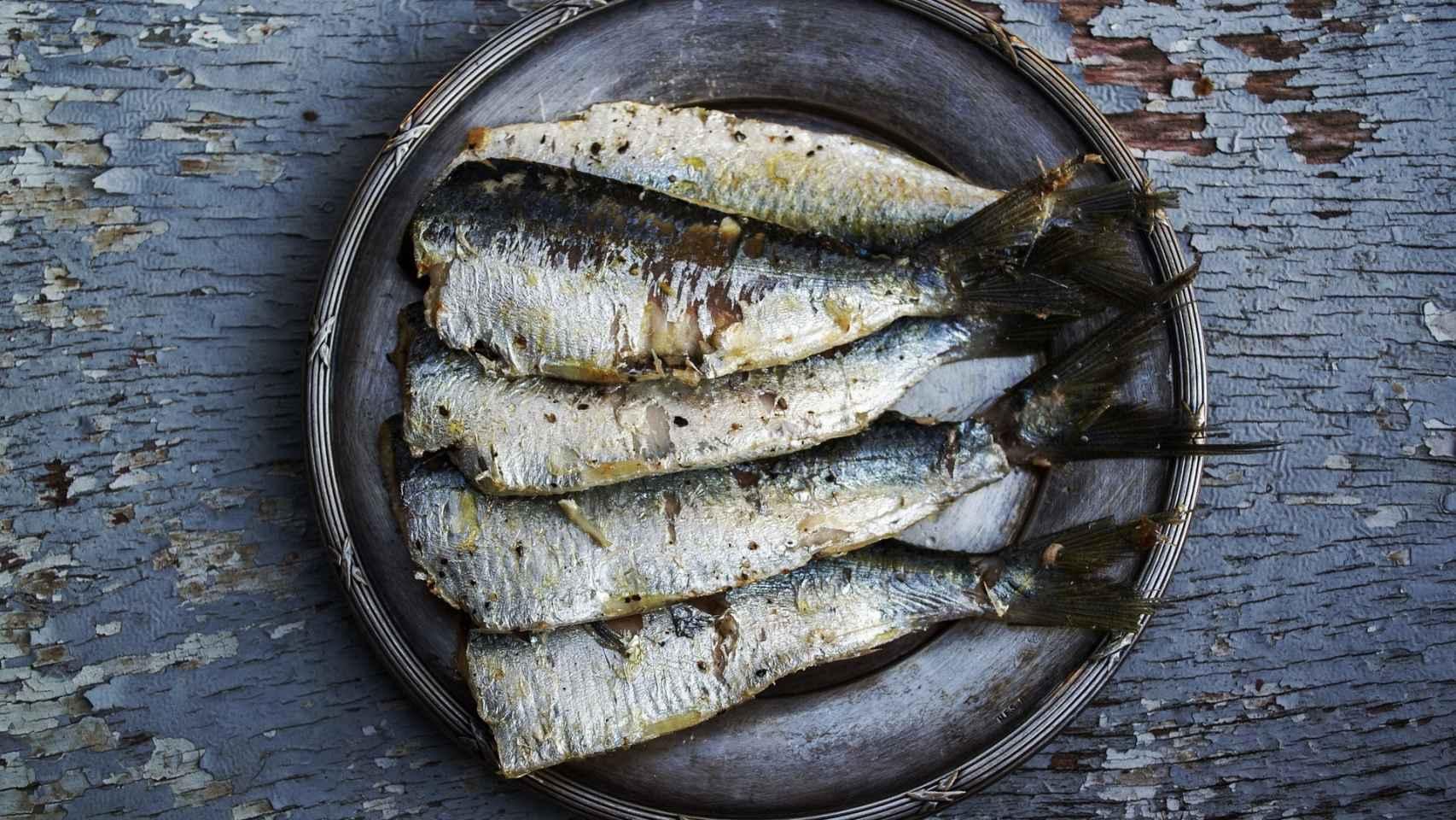 Un plato de sardinas podría ser un desayuno saludable.