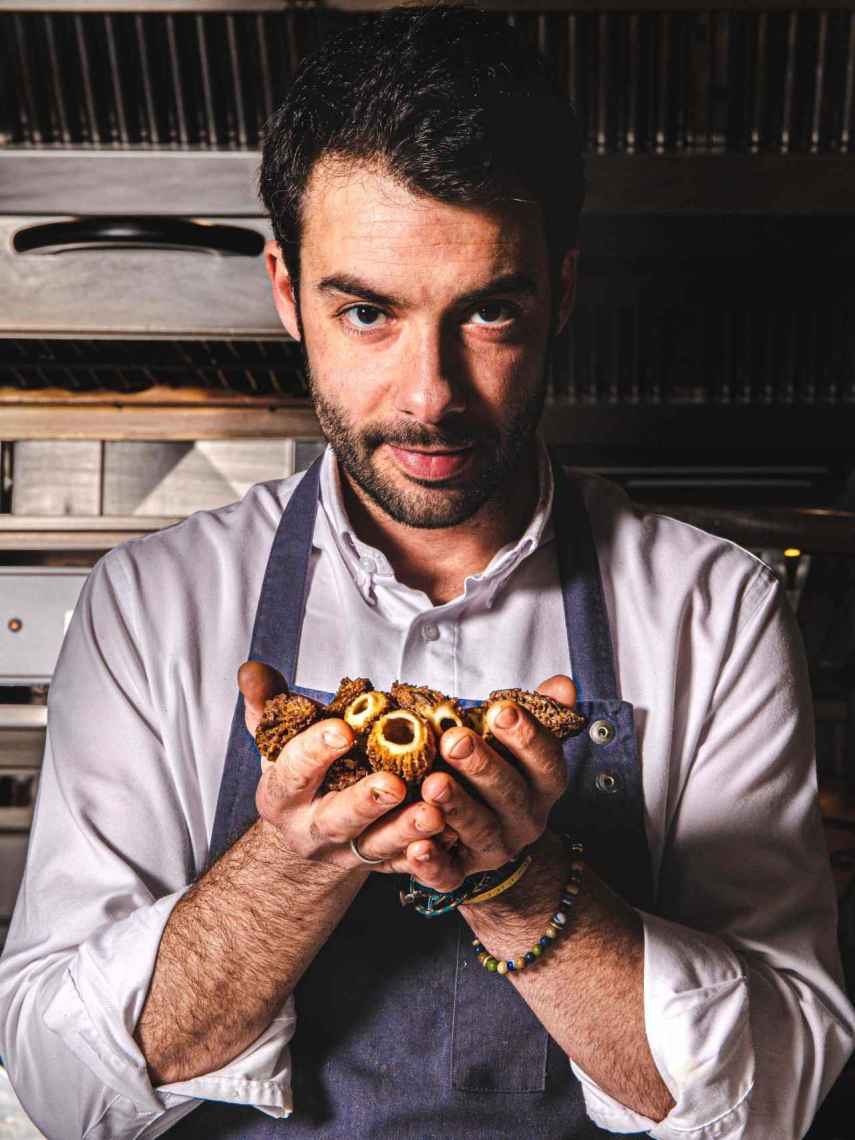 El chef de Gaytan, Javier Aranda