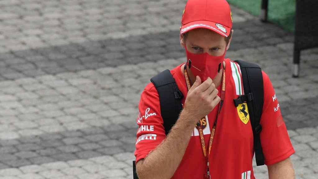 Vettel en el Gran Premio de Rusia